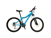 Mountain bike con i freni a disco immagini stock