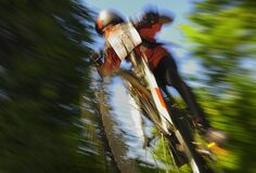 Mountain Bike contest `Skoda Velo Race` held in Romania 2012