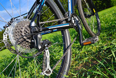 Mountain bike in countryside Royalty Free Stock Photo
