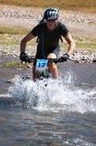 Mountain bike cross-country marathon Royalty Free Stock Photos