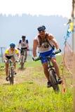 Mountain bike cross-country race Stock Photo