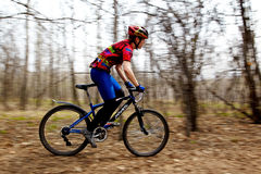 Mountain bike cross-country relay race Stock Photos