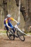 Mountain bike cross-country relay race Stock Photography