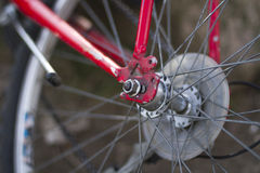Mountain Bike detail Stock Photography