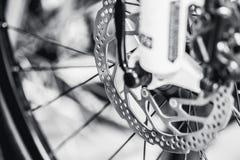 Mountain Bike disc brake stock images