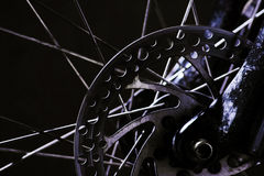 Mountain Bike Disc Brakes royalty free stock images