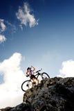 Mountain bike drink Royalty Free Stock Photos