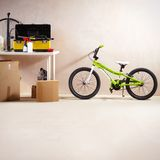 Mountain bike and equipment Stock Images