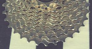 Mountain Bike Gears. A macro shot of mountain bike Gears Stock Photos