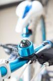 Mountain bike handlebar Royalty Free Stock Photography
