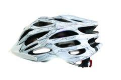 Mountain bike helmet, isolated on white background Stock Images