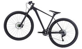 Mountain bike isolado no branco foto de stock