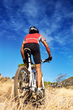Trail bike riding Stock Photography