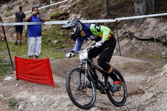 Mountain Bike, Pamporovo, Bulgaria, World Cup competition Royalty Free Stock Photography