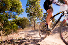 Mountain bike race Royalty Free Stock Photos