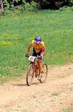 Mountain Bike Racer Royalty Free Stock Photos
