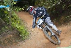 Mountain-bike Racing Stock Image