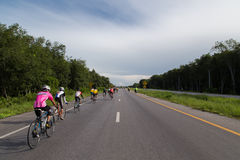 Mountain Bike racing competition in Yala Stock Photo