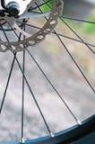 Mountain bike rear disc brakes Royalty Free Stock Photos