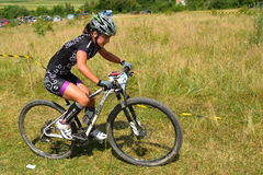 Mountain bike rider Royalty Free Stock Images