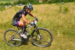 Mountain bike rider Stock Photos