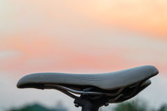 Mountain bike saddle Royalty Free Stock Photo
