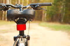 Mountain bike. Seat. Active leisure on the nature Royalty Free Stock Photography
