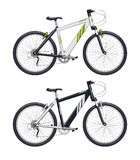 Mountain bike. Sport becycle Royalty Free Stock Photos