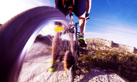 Mountain bike.Sport and healthy life Royalty Free Stock Photography