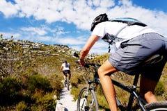 Mountain bike trail Royalty Free Stock Photo