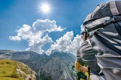 Mountain Bike Trip stock image