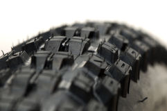 Mountain Bike Tyre Threads. Brand new mountain bike tyre threads Stock Image