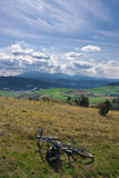 Mountain Bike View In Polish Pieniny Stock Photography