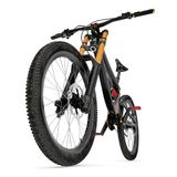 Mountain bike  on white. 3D illustration. Mountain bike  on white background. 3D illustration Stock Photo