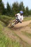 Mountain bike zoom 15 Stock Photography