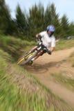 Mountain bike zoom 15 Stock Photography