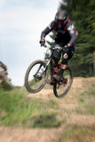 Mountain bike zoom 25 Royalty Free Stock Photography
