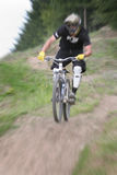 Mountain bike zoom 33 Royalty Free Stock Photo
