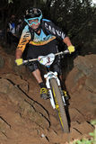 Mountain biker Barel Fabien - Enduro racer Stock Image