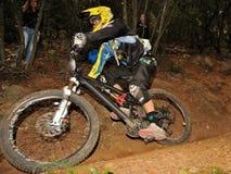 Mountain biker  Bruckner Petrik - Enduro racer Stock Image