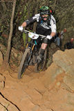 Mountain biker Jared Graves - Enduro racer Stock Photo