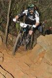 Mountain biker Jared Graves - Enduro racer Stock Photo