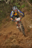 Mountain biker Massimo Manganelli - Enduro racer Stock Images