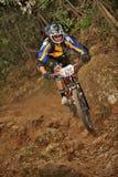 Mountain biker Massimo Manganelli - Enduro racer Stock Images