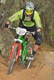 Mountain biker Matteo Raimondi - Enduro racer Stock Images