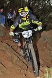 Mountain biker Remi Absalon -  Enduro racer Royalty Free Stock Photo