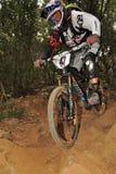 Mountain biker  Steve Peat - Enduro racer Royalty Free Stock Photos