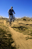 Mountain Biking Royalty Free Stock Photo