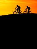 Mountain Biking Royalty Free Stock Photos