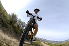 Mountain Biking Royalty Free Stock Image